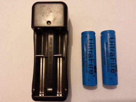 2 Baterías Ultra Fire 18650