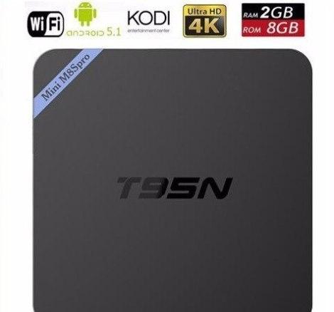 Android Tv Box T95n M8s Pro 4k 2gb De Ram Bluetooth Kodi en Web Electro