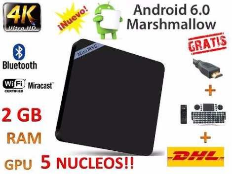 Android Tv Modelo 2017  6.0 Marshmallow+teclado+envio Gratis en Web Electro