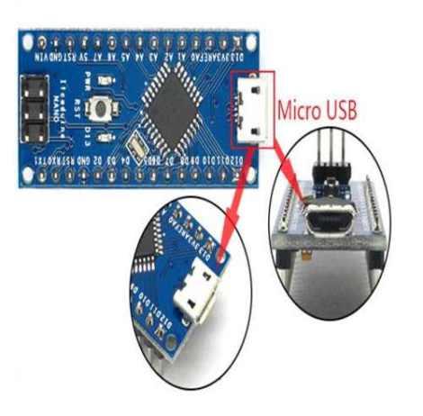 Arduino Nano 3.0 Nueva Versión Micro Usb en Web Electro