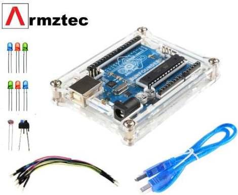 Arduino Uno Con Kit De Sensores Y Libros en Web Electro