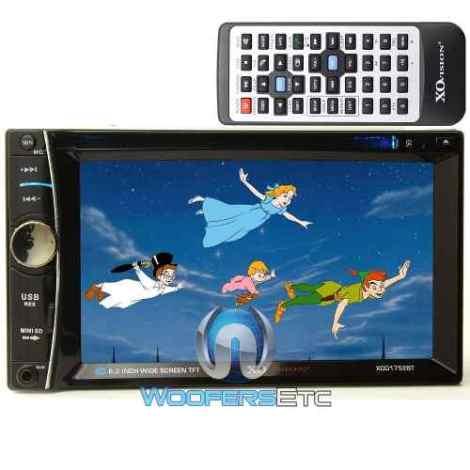 Autoestereo 2din Touch 6.2  Bluetooth  Sd Usb  Camara Gratis en Web Electro