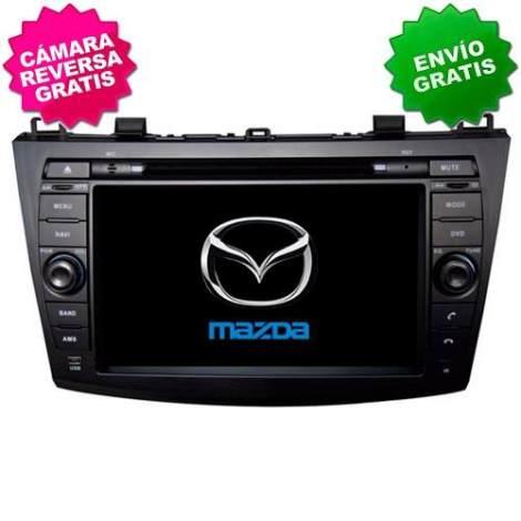 Autoestereo Navegador Gps Mazda 3 10-13 Dvd Bluetooth Mazda3 en Web Electro