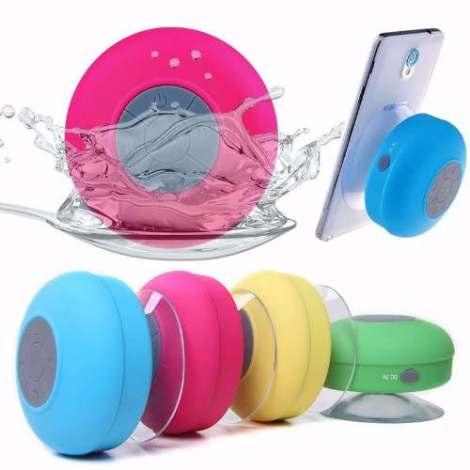 Bocina Bluetooth Resistente Al  Agua Sumergible Manos Libres