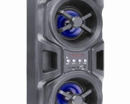 Bocina Recargable Bluetooth Usb Sd Mp3 Aux Fm Display 180w