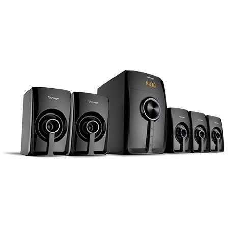 Bocinas 5.1 Canales Teatro En Casa Bluetooth Vorago Spb-500