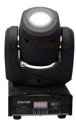 Cabeza Robotica Iluminación Led 8 Gobos Rgb-w Giro 360 Xaris en Web Electro