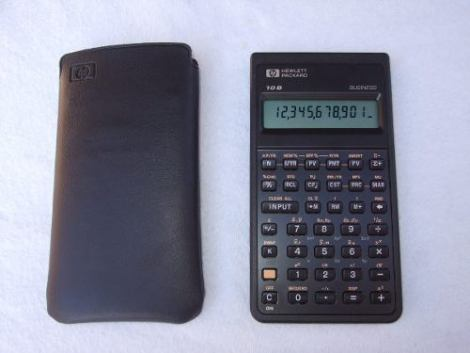 Calculadora Hp 10b Hewlett Packard Empresarial en Web Electro