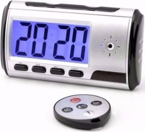 Camara Espia  Sony Oculta Alarma Reloj Despertador 32gb en Web Electro