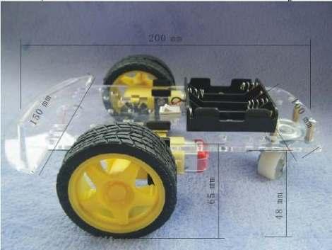 Chasis Robot Seguidor De Linea Sumo Robotica Arduino Pic Avr en Web Electro