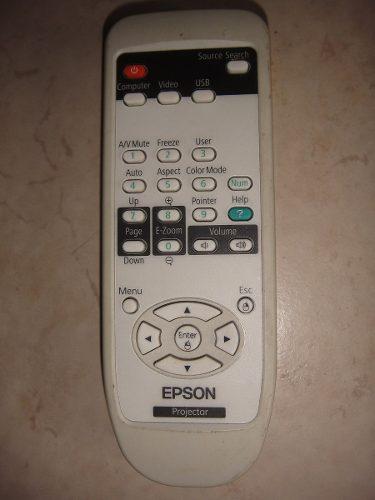 Control Remoto Epson Proyector Cañon 151506800 en Web Electro