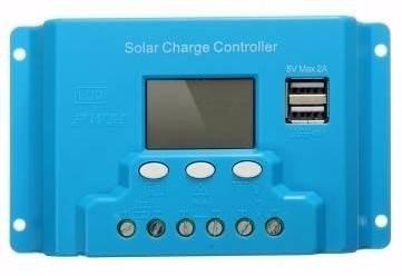 Controlador De Carga Solar 10a Sistema Fotovoltaico en Web Electro