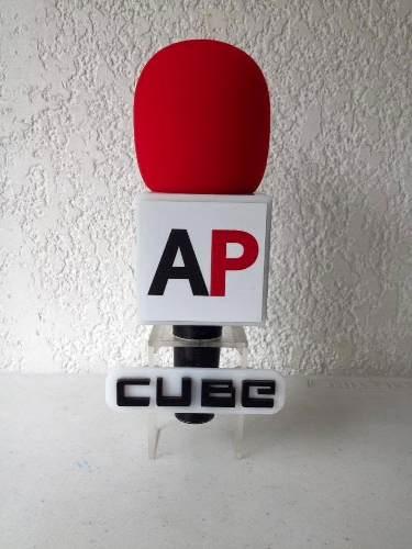Cubos Chico Para Microfono Rotulado en Web Electro