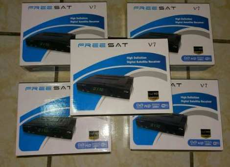 Freesat V7 Regalo Antena Wi-fi Y 3 Meses Azul en Web Electro
