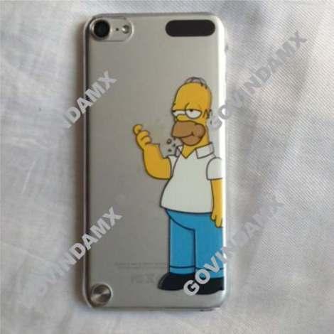 Funda Crystal Case Ipod Touch 5 Homero Comiendo en Web Electro