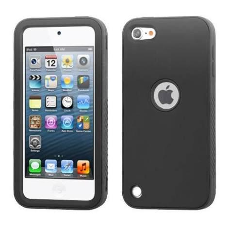 Funda Protector Mixto Apple Ipod Touch 5g Negro / Antiderrap en Web Electro