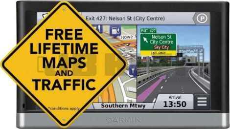 Gps Garmin Nuvi 2597lmt Bluetooth Mapas De Por Vida A Meses en Web Electro