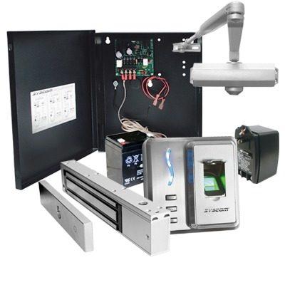 Kit Control De Acceso Biometrico  Huella Y Proximidad Sf101 en Web Electro