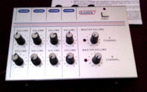 Mezcladora De Audio De 8 Canales Radox Mm-802 Excelente! en Web Electro