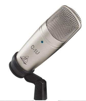 Microfono De Condensador Usb Estudio Behringer C-1u en Web Electro