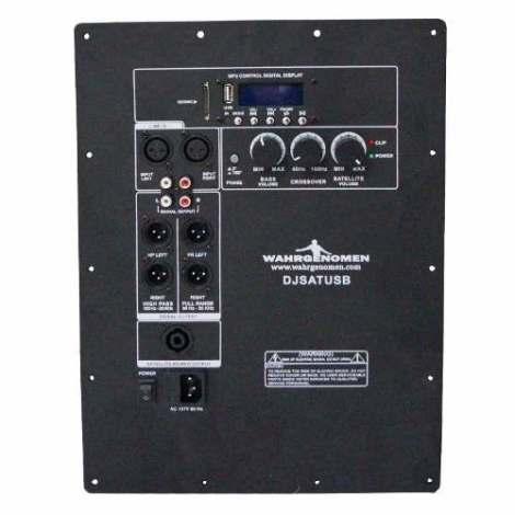 Modulo Amplificado Bluetooth/usb Para Subwoofer 600 Watts en Web Electro