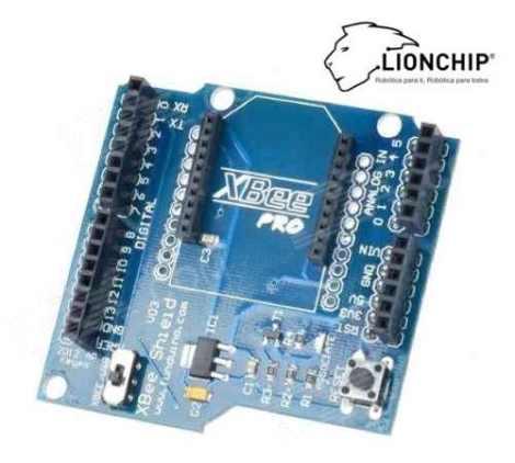 Modulo Xbee Shield Base Para Xbee 2.4 Ghz Arduino en Web Electro