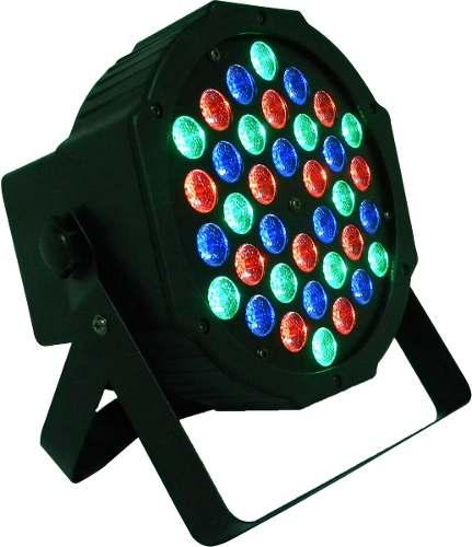 Par 64 Cañon 36x1w Luz Disco Luminaria Led Dmx Nuevo Modelo en Web Electro