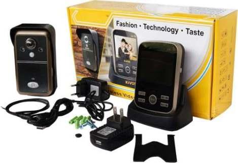 Portero Electrónico Inhalambrico Alcance De 300m Accesorios en Web Electro