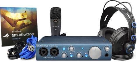 Presonus Audiobox Itwo Studio Paquete Completo De Grabacion en Web Electro