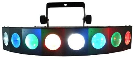 Rayo De 8 Cabezas Luz Disco Led Multicolor en Web Electro