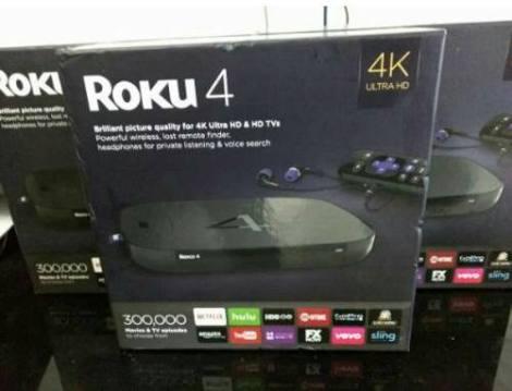 Roku 4 4k  Nuevos Caja Sellada Envio Gratis en Web Electro