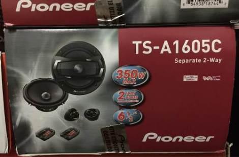 Set De Medios Pioneer 6.5 Nuevo En Caja en Web Electro