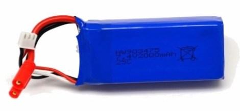 Syma X8c X8w Bc525 Bateria Lipo 7.4v 2000mah Drone en Web Electro