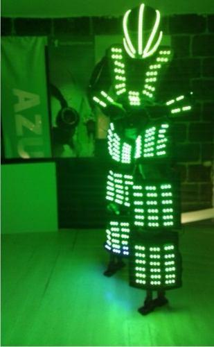 Traje Iluminado Tb 15 Robot Led Zancos en Web Electro