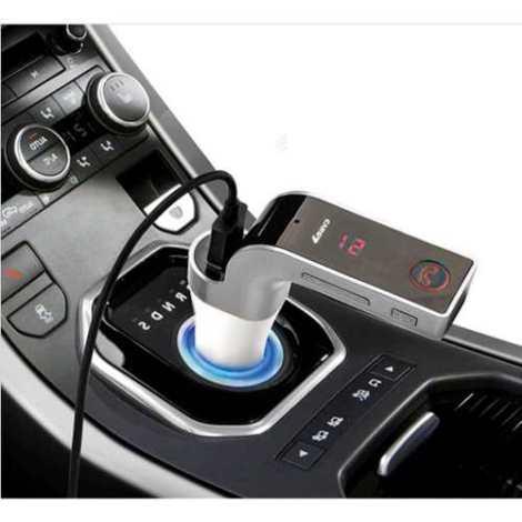 Transmisor Fm Bluetooth G7 Manos Libres Soporte Usb Micro Sd en Web Electro