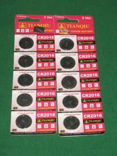 20 Pila Bateria  Cr2016 De Lithio 3 V