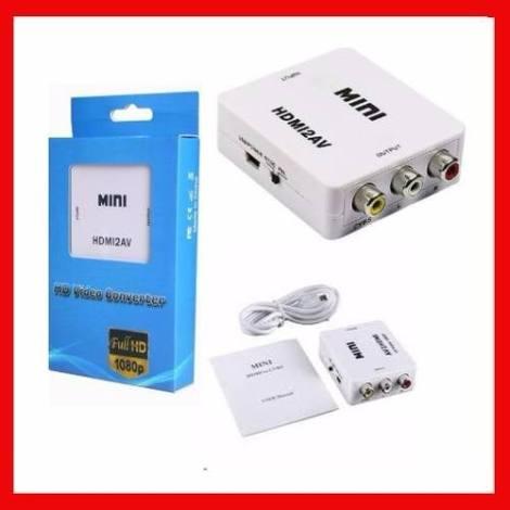 Adaptador Convertidor Hdmi Rca Audio Video