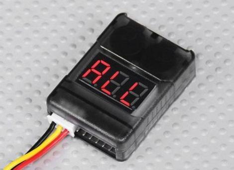 Alarma De Voltaje Bajo Bateria Lipo 2s 3s 4s 5s 6s 7s 8s en Web Electro