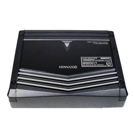 Amplificador Clase D Kenwood 5001ps 1000w 1 Canal Ventilador en Web Electro