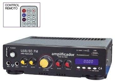 Amplificador Perifoneo Voceo Usb Fm Mp3 Karaoke 180w