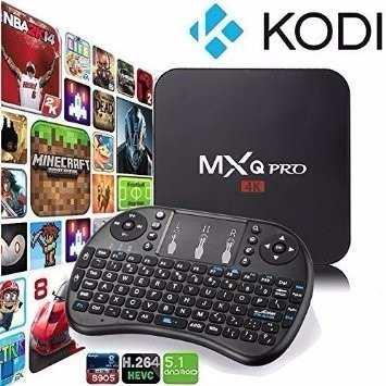 Android Tv Box Mxq Pro Android 5.1  Kodi + Teclado 2016 ! en Web Electro