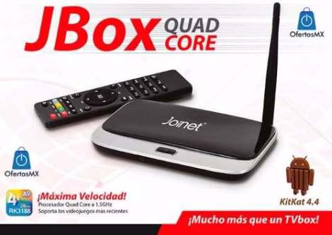 Android Tv Joinet Jbox Quad Core Smart Tvbox Full Hd Kitkat