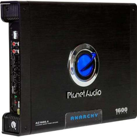 Apmlificador 4 Canales Planet Audio Ac1600.4 Para Bocinas en Web Electro
