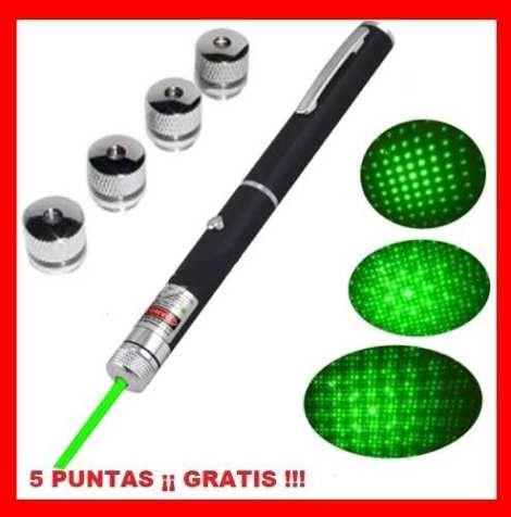Apuntador Láser Verde 50 Mw 15 Km Multipuntos + Envio Gratis