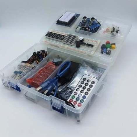 Arduino Uno Starter Kit Completo Full +libros +envío Gratis! en Web Electro