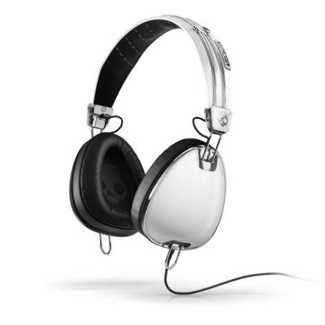 Audifonos Skullcandy Aviator White Con Microfono en Web Electro