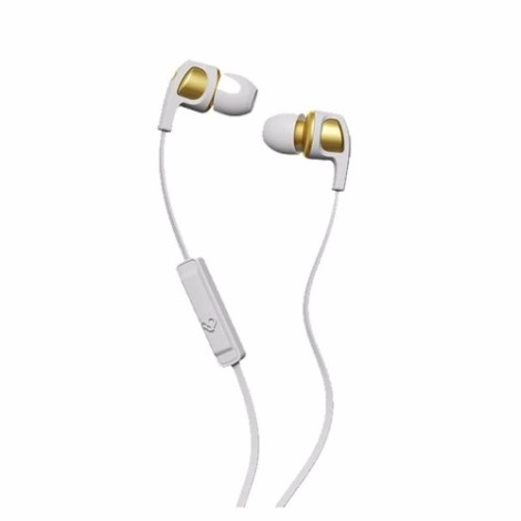 Audifonos Skullcandy Dime  Microfono White Brown Gold en Web Electro