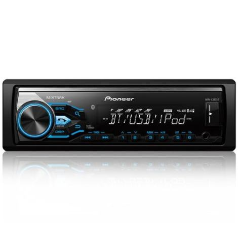Autoestereo Pioneer Mvh-x385bt Iphone Android Bluetooth 2016 en Web Electro