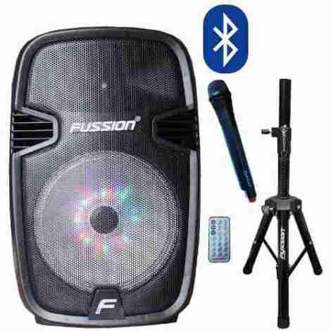 Bafle Bocina Amplificado Con Bluetooth Mic