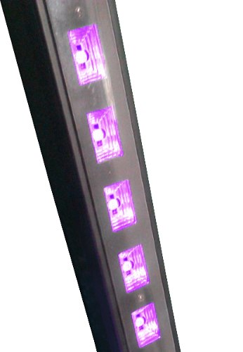 Barra Led 18 Hyper Leds 5w Ultravioleta Luz Negra Disco